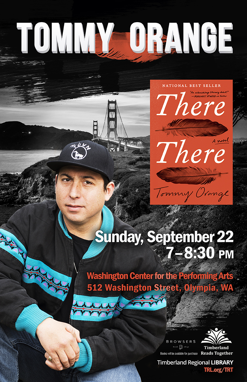 Save the Date for Tommy Orange at the WA Center September 22