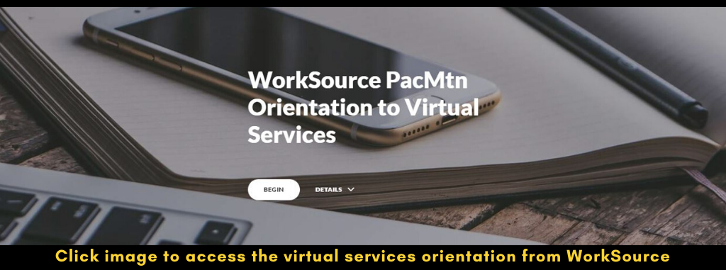 Virtual Services Orientation from WorkSource