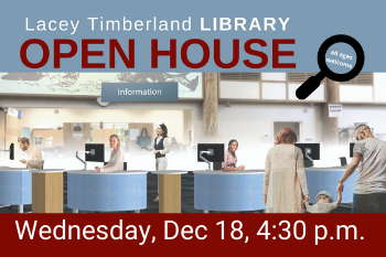 Open House for Lacey Library Remodel