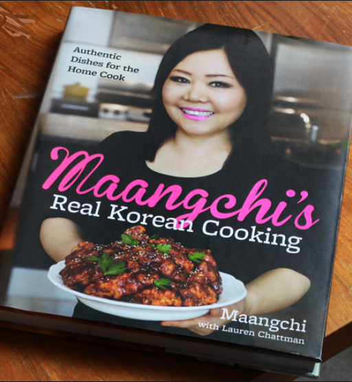 Maangchi cookbook cover