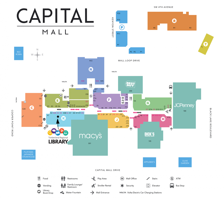 Capital Mall Directory Iimage