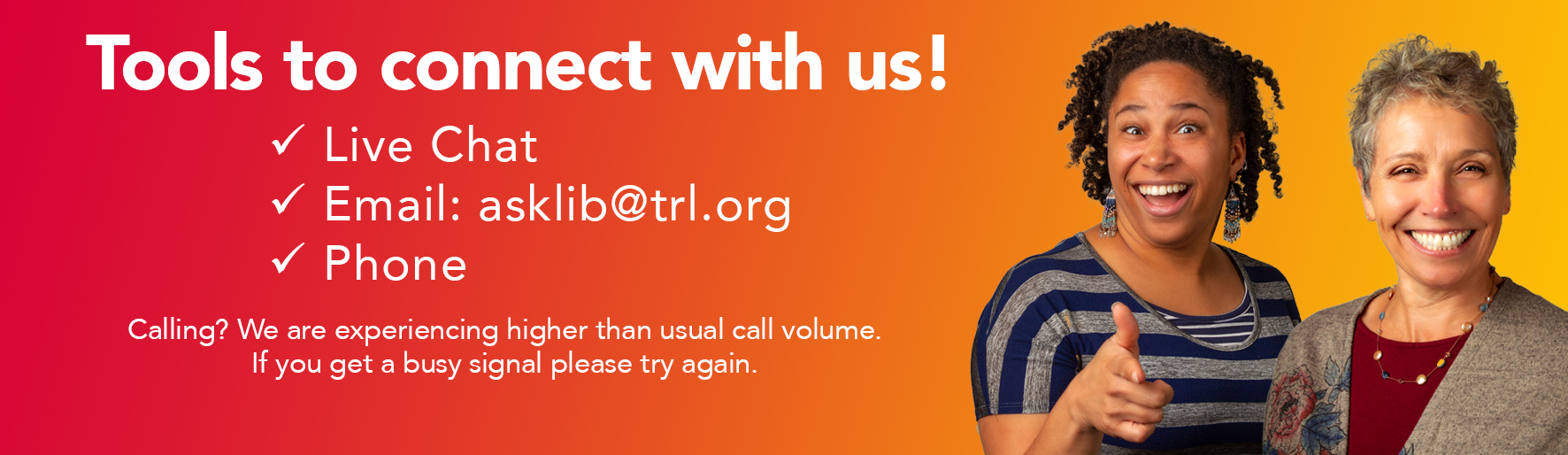 Tools to Connect With TRL
