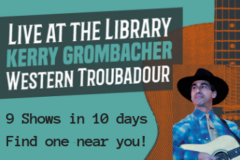 Live at the Library: Kerry Grombacher
