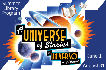 Summer Library Program 2019 - A Universe of Stories!