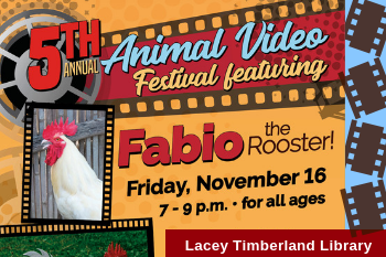5th Annual Animal Video Festival - Nov 16